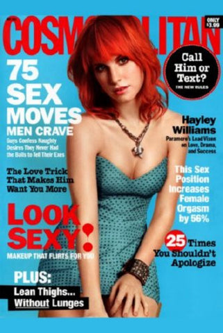 Haley Williams Cosmopolitan Cover Poster 24inx36in (61cm x 91cm) - Fame Collectibles