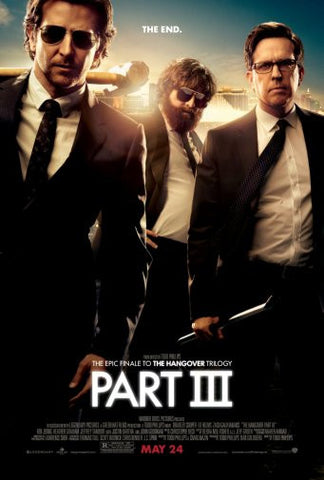 Hangover 3 Movie Poster 24inx36in Poster 24x36 - Fame Collectibles