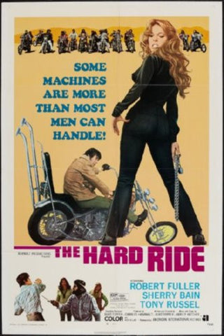 Hard Ride Movie Poster 24inx36in (61cm x 91cm) - Fame Collectibles