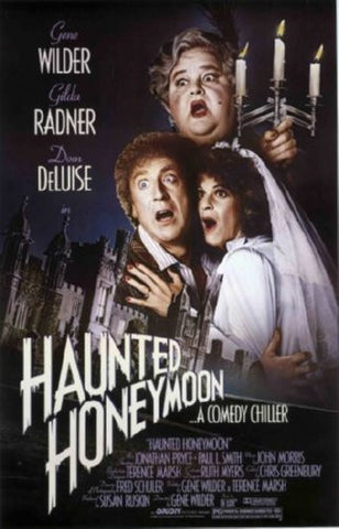 Haunted Honeymoon Movie Poster 24inx36in (61cm x 91cm) - Fame Collectibles