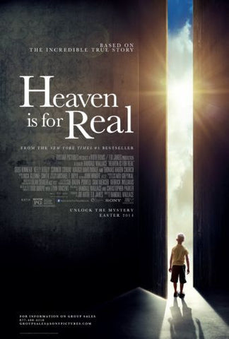 Heaven Is For Real Movie poster 24inx36in Poster 24x36 - Fame Collectibles