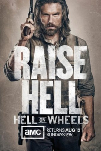 Hell On Wheels Poster 24inx36in (61cm x 91cm) - Fame Collectibles