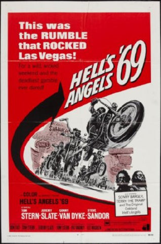 Hells Angels 69 Movie Poster 24inx36in (61cm x 91cm) - Fame Collectibles
