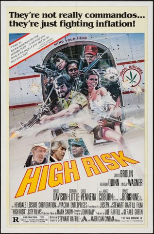 High Risk Movie poster 24inx36in Poster 24x36 - Fame Collectibles