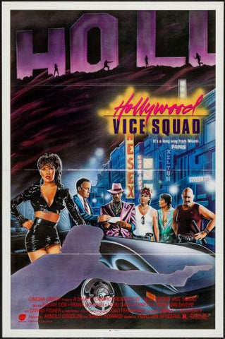 Hollywood Vice Squad Movie poster 24inx36in Poster 24x36 - Fame Collectibles