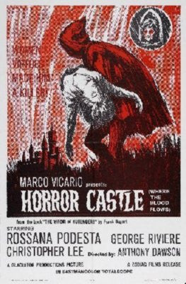 Horror Castle Poster 24inx36in - Fame Collectibles