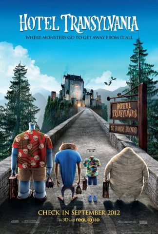 Hotel Transylvania Movie Poster 24inx36in Poster 24x36 - Fame Collectibles