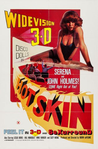 Hot Skin Movie Poster 24inx36in Poster 24x36 - Fame Collectibles