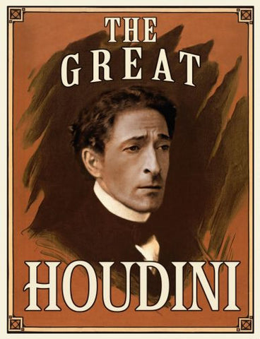 Houdini Movie poster 24inx36in Poster 24x36 - Fame Collectibles