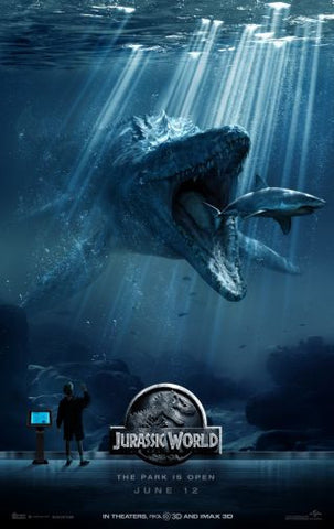 Jurassic World Movie Poster Puzzle Fun-Size 120 pcs - Fame Collectibles
