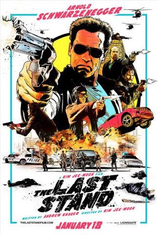 Last Stand Movie Poster Puzzle Fun-Size 120 pcs - Fame Collectibles