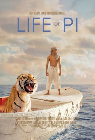 Life Of Pi Movie Poster Puzzle Fun-Size 120 pcs - Fame Collectibles