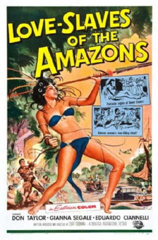 Love Slaves Of The Amazons Movie 8x10 photo - Fame Collectibles