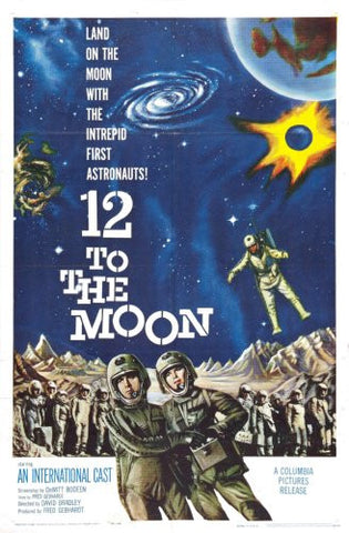 12 To The Moon Movie Poster 24x36 - Fame Collectibles