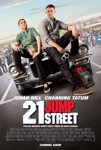 21 Jump Street Movie Poster #02 24x36 2012 Channing Tatum 24x36 - Fame Collectibles