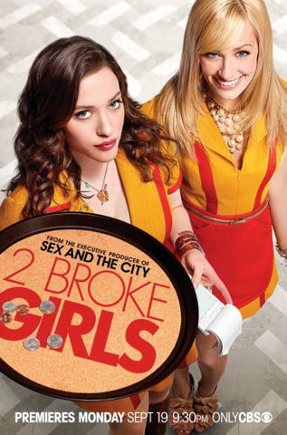 2 Broke Girls Poster 24x36 - Fame Collectibles