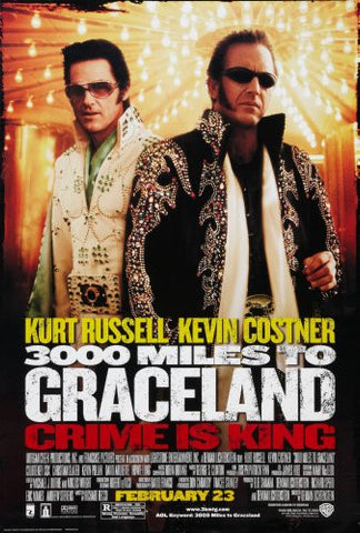 3000 Miles To Graceland Movie 8x10 photo - Fame Collectibles