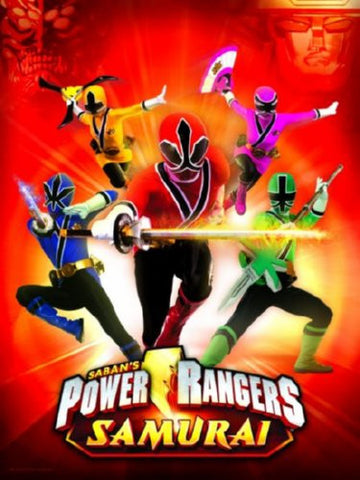 Power Rangers Samurai Movie Poster Puzzle Fun-Size 120 pcs - Fame Collectibles