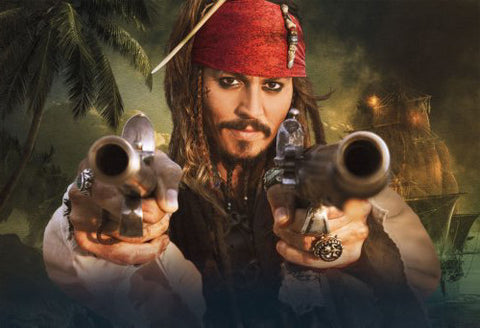 Pirates Of The Caribbean Stranger Tides Movie Poster 24x36 - Fame Collectibles