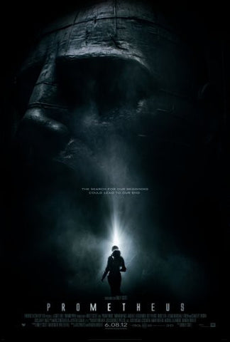 Prometheus Movie Poster #02 24x36 - Fame Collectibles