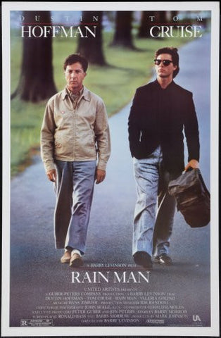 Rainman Movie Poster 24x36 - Fame Collectibles