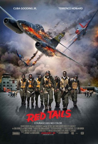 Red Tails Movie Poster #02 24x36 - Fame Collectibles
