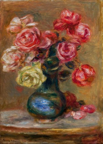 Renoir Le Bouquet Art Poster 24x36 - Fame Collectibles
