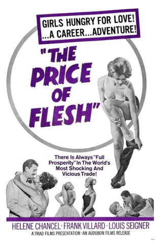 Price Of Flesh Movie Poster 24inx36in Poster 24x36 - Fame Collectibles