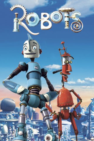 Robots Movie Poster 24x36 - Fame Collectibles
