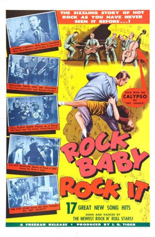 Rock Baby Rock It Movie Poster 24x36 - Fame Collectibles
