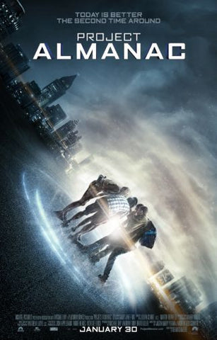 Project Almanac Movie poster 24inx36in Poster 24x36 - Fame Collectibles