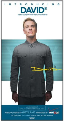 Prometheus Movie Poster 24inx36in David Weyland Robot (61cm x 91cm) 24x36 - Fame Collectibles