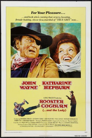 Rooster Cogburn Movie Poster 24x36 - Fame Collectibles
