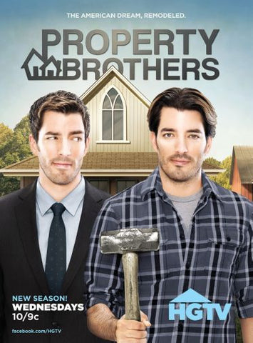 Property Brothers poster 24inx36in Poster 24x36 - Fame Collectibles