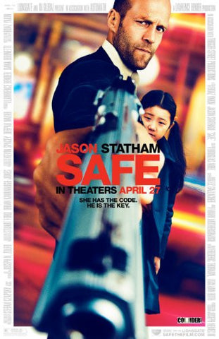 Safe Movie Poster 24x36 - Fame Collectibles