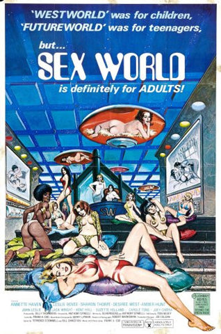 Sex World Movie Poster 24x36 - Fame Collectibles