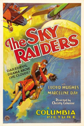 Sky Raiders The Movie Poster 24x36 - Fame Collectibles