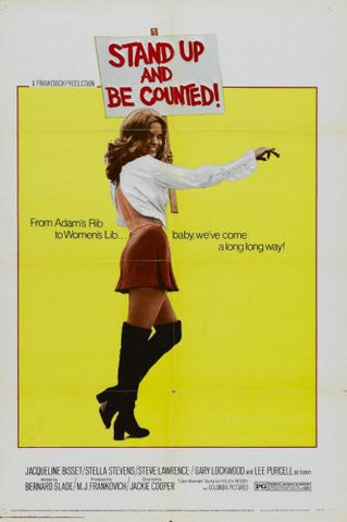 Stand Up And Be Counted Movie Poster 24x36 - Fame Collectibles