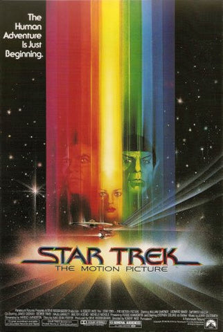 Star Trek The Motion Picture Movie Poster 24x36 - Fame Collectibles