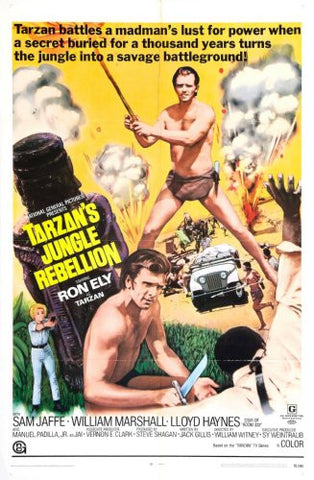 Tarzans Jungle Rebellion Movie Poster 24x36 - Fame Collectibles