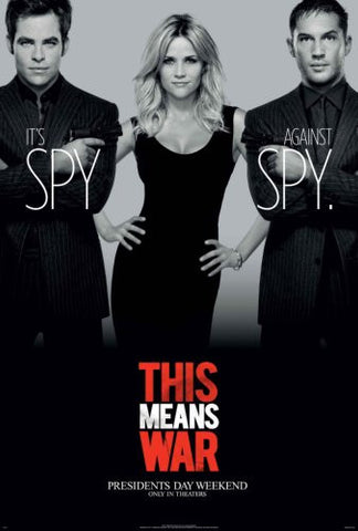 This Means War Movie Poster 24x36 - Fame Collectibles