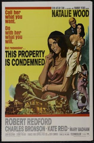 This Property Is Condemned Movie Poster 24x36 - Fame Collectibles