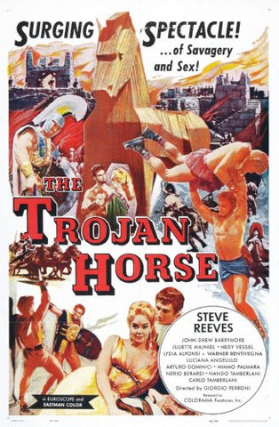 Trojan Horse Movie Poster 24x36 - Fame Collectibles