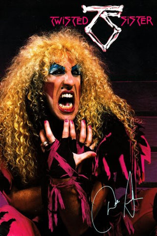 Twisted Sister Poster 24x36 - Fame Collectibles