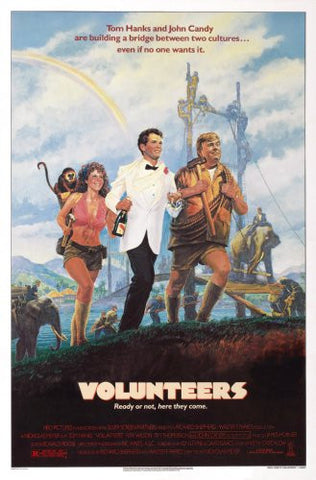 Volunteers Movie Poster 24x36 - Fame Collectibles