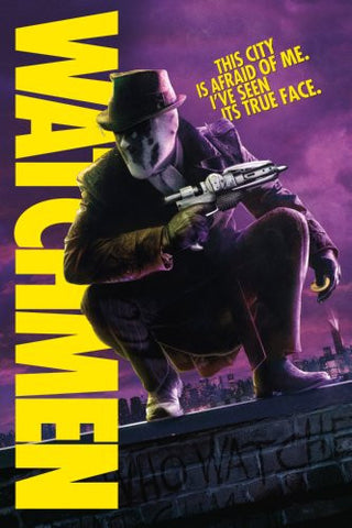 Watchmen Movie Poster #02 24x36 - Fame Collectibles