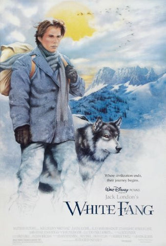 White Fang Movie Poster 24x36 - Fame Collectibles