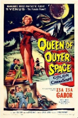 Queen Of Outer Space Poster 24inx36in - Fame Collectibles