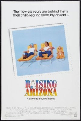 Raising Arizona Poster 24inx36in - Fame Collectibles