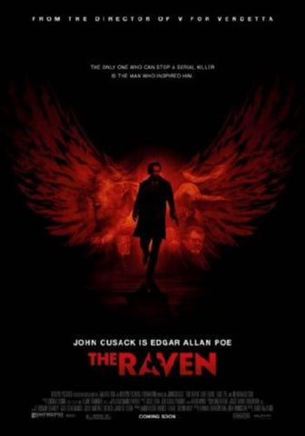 The Raven Movie Poster 24inx36in (61cm x 91cm) - Fame Collectibles